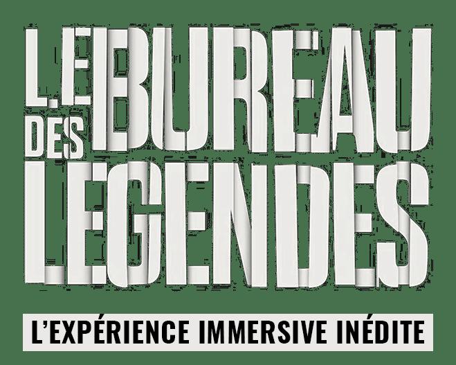 Logo expérience bureau des légendes